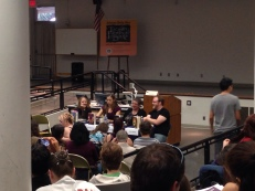 Cornelia Funke, Aprilynne Pike, Janni Lee Simner, and Chuck Wendig talk about world building