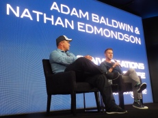 Adam Baldwin and Nathan Edmondson