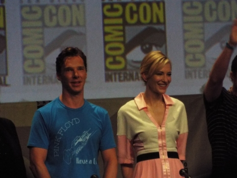 Benedict Cumberbatch and Cate Blanchett