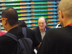 The inimitable David Bradley