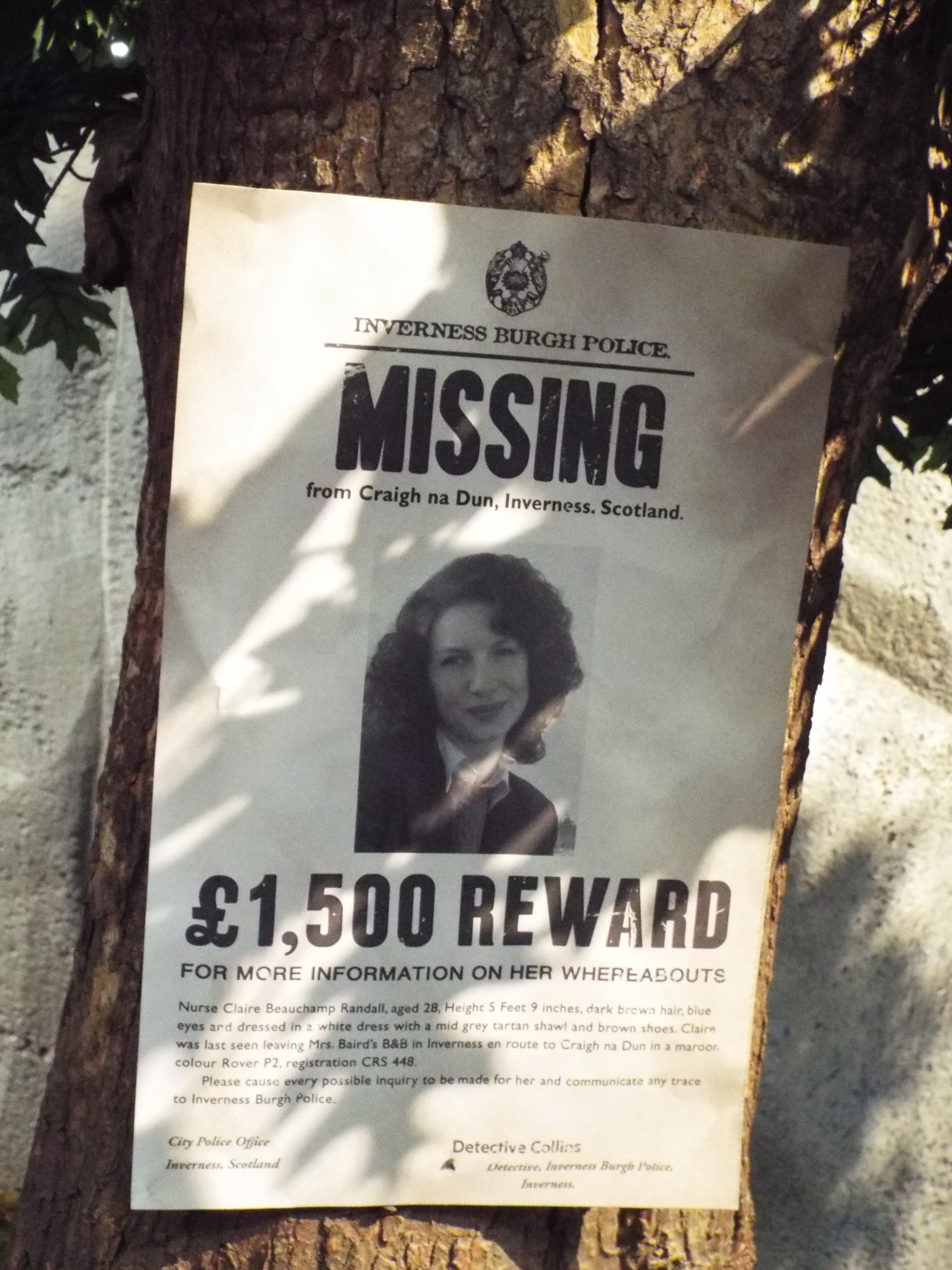 Outlander, missing persons poster « Amy Writes