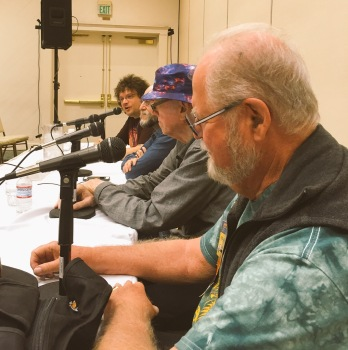 Panel with Larry Niven, William F. Nolan and Jason V. Brock