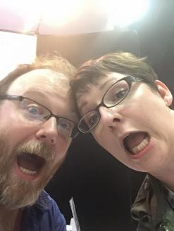 Me and Chuck Wendig