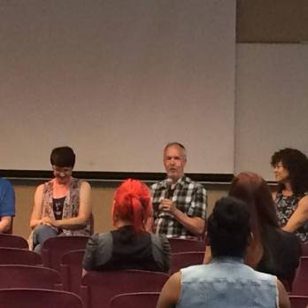 Panel with Scott Craven and Amy Dominy