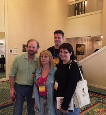 With Fred Wiehe, Lisanne Norman and Thomas Voorhies